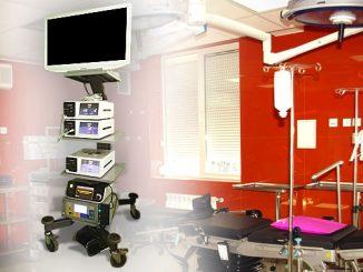 Детска хирургия, Лапарскопска колона
