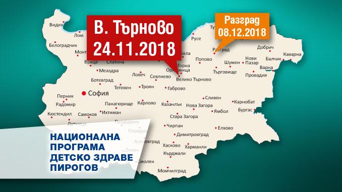 Национална програма детско здраве Пирогов, Велико Търново