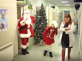 Детска хирургия пореща Дядо Коледа.