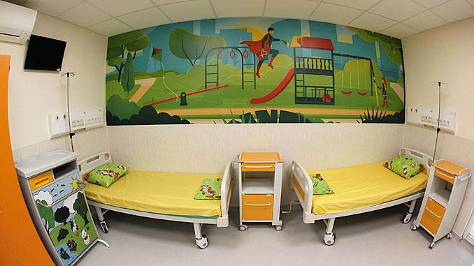 Ремонтирана стая в Детска хириргия